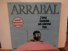 "b.o.film""j'irai comme un cheval fou""arrabal""lp12""or.fr.fes:fld 626.de 1973.rare"