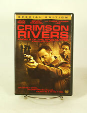 Crimson Rivers DVD Action Classsic Christopher Lee