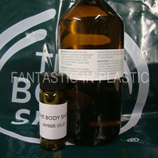 The Body Shop AMBER OUD perfume oil 15ml RARE!