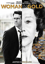 Woman in Gold (DVD, 2015) Ryan Reynolds Katie Holmes Helen Mirren