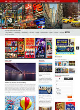 NEW YORK Hotel and Travel website for sale Affiliate NEW responsive mobile