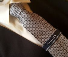 NAUTICA TIE Collection  GRAY  DOTS