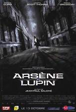 ARSENE LUPIN Movie POSTER 11x17 French Romain Duris Kristin Scott Thomas Pascal