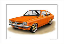 HOLDEN  GEMINI  TX  COUPE      LIMITED EDITION CAR PRINT AUTOMOTIVE ARTWORK