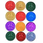 SET of 12 Recovery AA Medallion / Coins BSP 24hr-11mo
