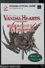 "JAPAN Vandal Hearts: Official Guide ""Secret Data"""