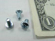 "Lot 100 Pan Head Phillips Screws #6-32 x 1/4"" Zinc Plated Steel, Standoff Spacer"