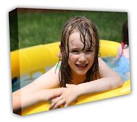 Your PHOTO/PICTURE/PIC on to an A1 XL LARGE canvas print 40MM DEEP FRAME 30X20IN