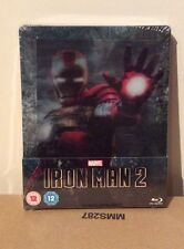 Marvel Iron Man 2 Zavvi Steelbook Blu Ray + 3D Collectors Dvd Cover