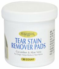 CARDINAL GOLD MEDAL TEAR STAIN REMOVER PADS DOG ALOE & CUCUMBER FREE SHIP TO USA