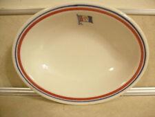 Vintage Restaurant Ware Walker China Pickands Mather Great Lakes Steamship Dish!