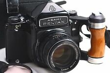 [NEAR MINT] PENTAX 6x7 + 105mm Lens + Grip + Box from japan #4244221