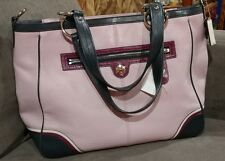 COACH LTD ED LG PURPLE PINK MADISON SPECTATOR JULIANNE LEATHER TOTE BAG PURSE SA