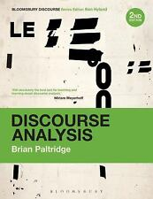 Bloomsbury Discourse: Discourse Analysis : An Introduction by Brian Paltridge...