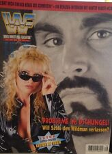 WWF Magazin 9/97 WWE Wrestling deutsch Marc Mero Sable