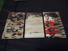 1996-97 Pinnacle McDonald's NHL Hockey Card Complete Set #1-40 + Checklist
