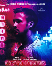 Ryan Gosling & Nicolas Winding Refn signed Only God Forgives 8x10 photo - Drive