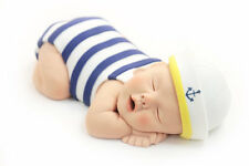 Baby Cake Topper Sailor Boy Blue Nautical for Baby Shower by lil sculpture