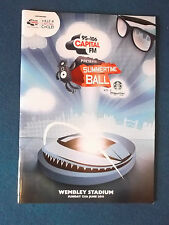 Capital FM Summertime Ball 12/6/11 Concert Programme. Held at Wembley Stadium