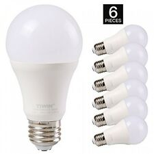 TIWIN A19 E26 LED Light Bulbs 100 watt equivalent (11W), Daylight
