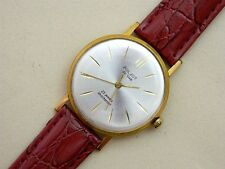 POLJOT De Luxe USSR Au20 gold plated vintage men's mechanical wristwatch