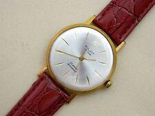 POLJOT De Luxe USSR Au20 gold plated vintage men's mechanical wristwatch
