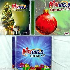 Mix 106.5 KEZR Holiday Christmas 4 CD Lot New Promos Pop Rock 2010-2014 SF Bay