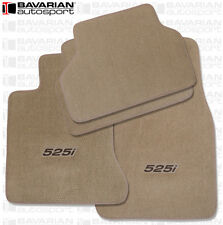 BMW E34 525i Custom Embroidered Touring Floor Mat Set 1989-1995