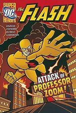 The Attack of Professor Zoom! (Dc Super Heroes)-ExLibrary