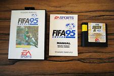 Jeu FIFA 95 SOCCER pour Sega MEGA DRIVE (MD) avec boite & notice PAL
