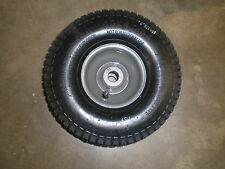 "Weedeater one 26"" cut rear engine rider front wheel assembly 10x4x4"