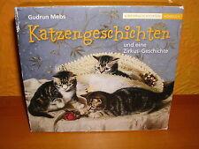 Hörbuch CD Katzengeschichten und eine Zirkus-Geschichte, 3 CDs