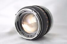 **As Is** Canon Lens FD 50mm F1.4 **For Repair** From Japan #C003e