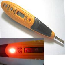 12V-220V AC/DC Digital LCD induction test pencil Voltage Tester Detector Sensor