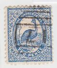 (JQ-157) 1888 NSW 2d blue EMUS (Q)