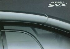 Subaru SVX Coupe Sales Brochure - SB010