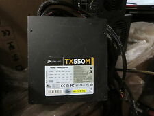 CORSAIR Enthusiast Series TX550M 550W ATX12V v2.31 / EPS12V v2.92 80 PLUS BZ