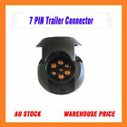NEW STOCK !! FXE03B--TRAILER PLUG CONNECTOR SOCKET 7 PIN ROUND FEMALE