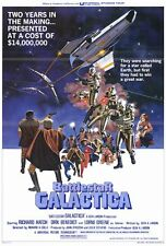 "BATTLESTAR GALACTICA Movie Poster [Licensed-NEW-USA] 27x40"" Theater Size (1978)"