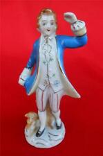 Colonial Victorian Man and Dog ~ Occupied Japan Figurine