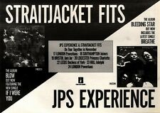 13/11/93PGN30 STRAITJACKET FITS & JPS EXPERIENCE TOUR DATES ADVERT 7X11""