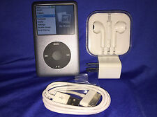 *RARE* NEAR MINT Gray iPod classic (80 GB) + EXTRAS + FREE SHIP!