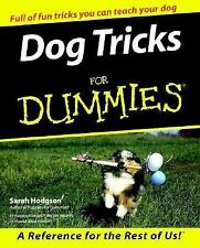 Dog Tricks For Dummies, Hodgson, Sarah, Good Book