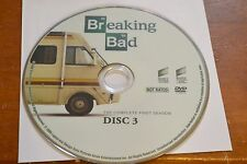 Breaking Bad First Season 1 Disc 3 Replacement DVD Disc Only **