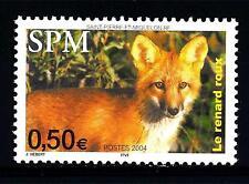 ST. PIERRE E MIQUELON - 2004 - Fauna selvatica. La volpe rossa