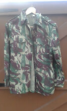 SADF Very Rare Recce copy of  Mozambique army Lizard Camo Bush shirt 1980's
