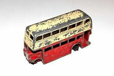 Dinky Toys 2 Tone Post War Double Decker Bus # 29c With 1st Type Grill