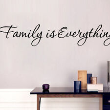 Family is Everything Removable Home Decor Art Vinyl Quote Home Wall Stickers 1x