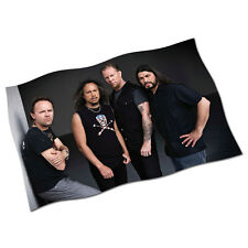 "Metallica Flag Banner 29"" NEW Nothing Else Matters Enter Sandman The Unforgiven"