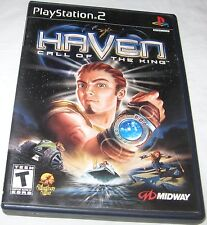 Haven Call Of The King Sony PlayStation 2, Action Adventure FREE SHIPPING U.S.A.